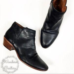 Sam Edelman Petty Black Ankle Booties